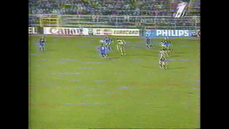 40 CL 1996 1997 Borussia Dortmund Steaua Bucureşti 5 3 04 12 1996 HL