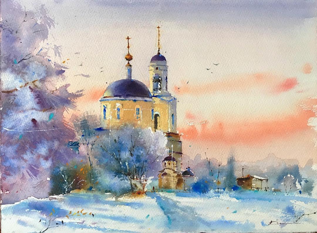 Россия глазами испанской художницы Blanca Alvarez
