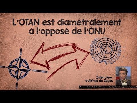 Info L'OTAN est diamétralement à l'opposé de l'ONU