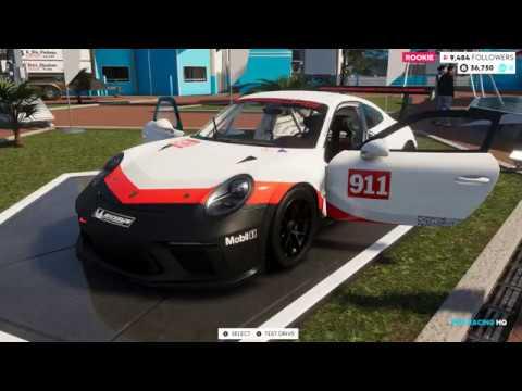 The Crew 2 (2018) | Porsche 911 (991.2) GT3 Cup Racecar - Short Test-Drive (1440p60fps).