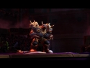 After work at Blizzard has finished, Game Director Jeff switches to his alter ego Jefe the Wrestler and battle in Heroes of the