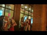 Прямая трансляция Харинама 3/7 на ст.м. Новослободская 01.12.2017