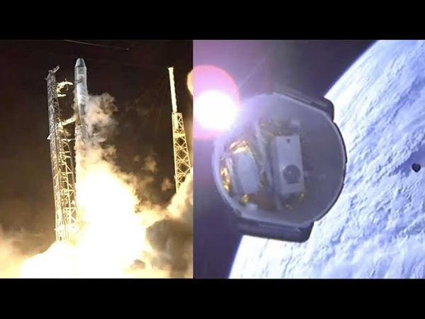 SpaceX CRS-15 Falcon 9 launches Dragon spacecraft deployment