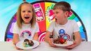 ТОРТ ЧЕЛЛЕНДЖ или MYSTERY WHEEL OF Cake CHALLENGE