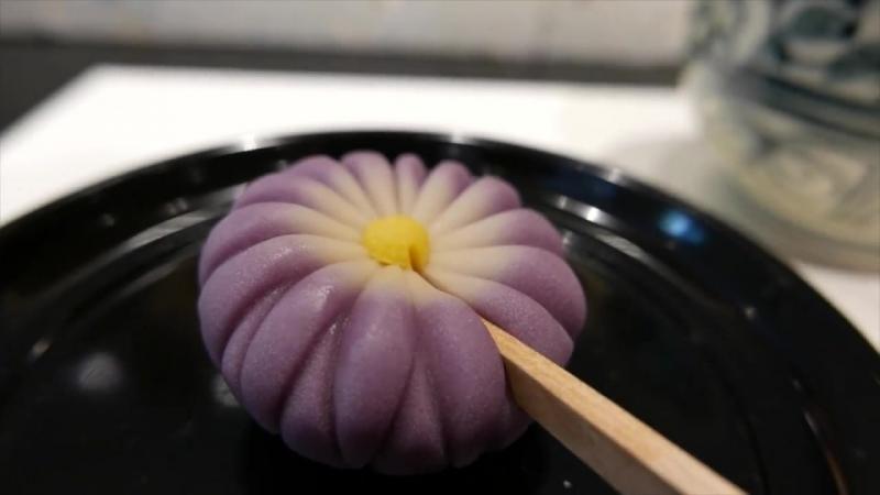Японская конфетка_ WAGASHI Традиционные сладости Токио Япония
