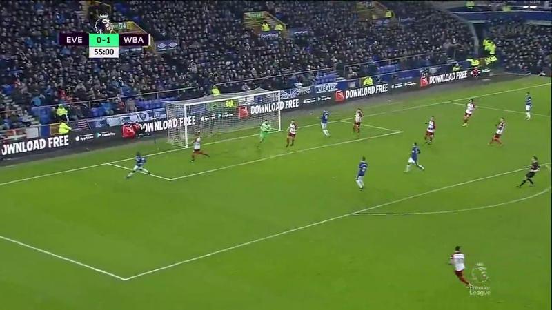 EPL 2017-18. Everton - WBA (2 half)
