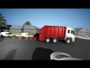 Система автоматического торможения при движении задним ходом VT Banksman Auto Braking