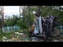 В Добрушском районе Газель не вошла в поворот перевернулась и оказалась на кладбище