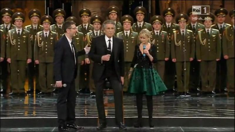 Sanremo 2013 - L'italiano, Le notti di Mosca, Volare (Итальянец, Подмосковные вечера, Летать)
