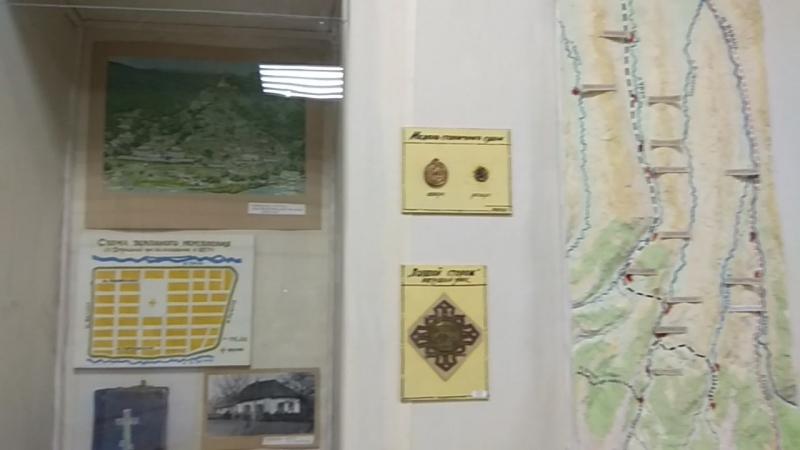 В музее ст. Отрадной