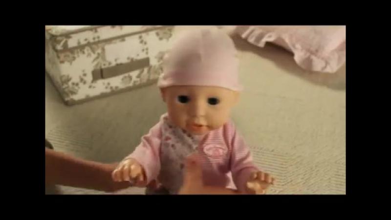 Интерактивная кукла Baby Annabell - Бэби Аннабель - Учимся ходить от Zapf Creati