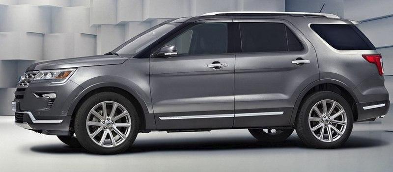 Ford представляет обновленный Explorer для России