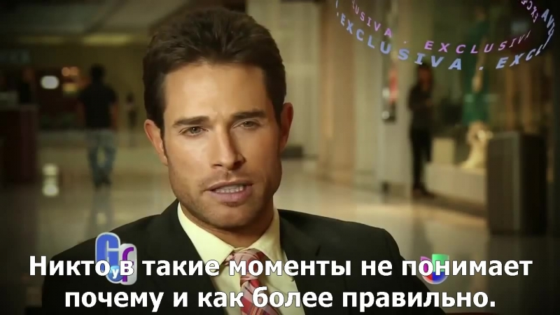 Sebastian Rulli расскажет о своих переживаниях после развода в перерыве съёмок Amores Verdaderos 2012