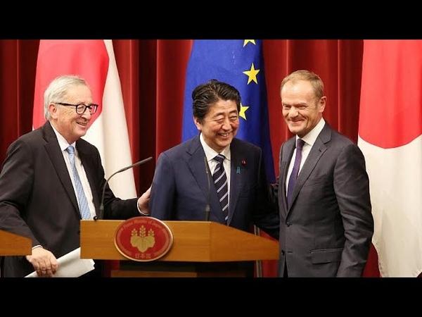 ЕС и Япония подписали соглашение о свободной торговле