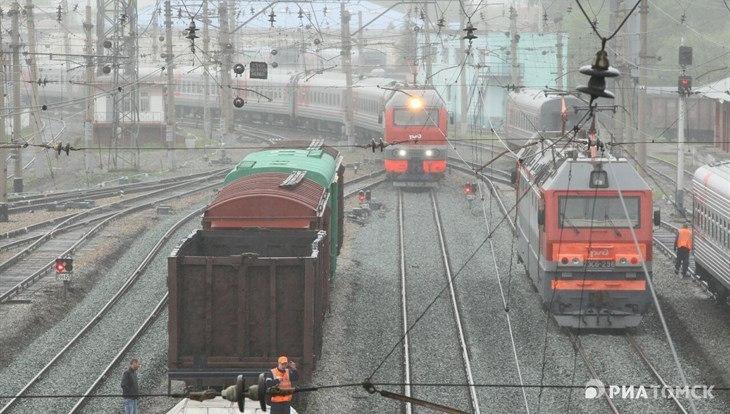 Погибший под колесами поезда томский студент мог покончить с собой