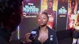 Nadia Rose Interview at Black Panther European Premiere