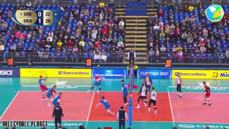 Fantastic Volleyball Team Defense. Epic Volleyball Moments. Volleyball 2017.