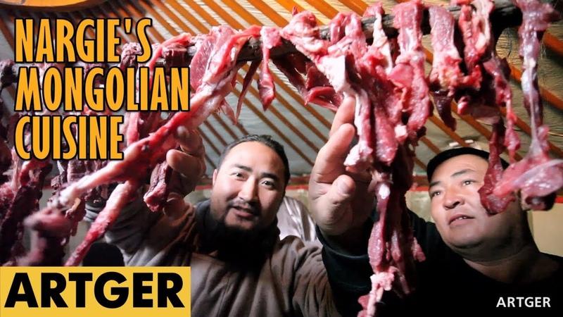 Nargies Mongolian Cuisine BORTS (Mongolian Air-Dried Meat) S1E4