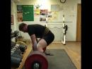 380кг на 4 повтора свой вес 102 кг гриф не мягкий!