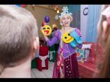 Принцесса Рапунцель на детском дне рождения