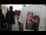 РОФ имени Героя России А-Х. Кадырова у линии фронта Восточной Гуты помогает беженцам.