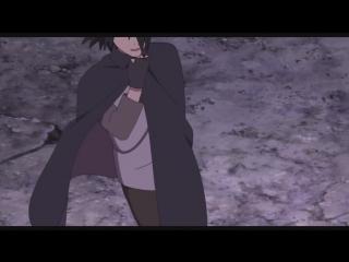 Наруто и Саске против Момошики