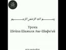 Шейх Шамиль Аш-Шафиий - Аллаhа невозможно представить в воображении.mp4