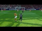 FIFA18 Боласи флик и удар в угол от Роналдиньо (Другой повтор)