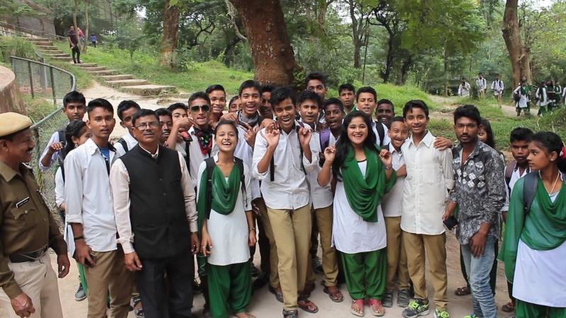 Слава Україні - Індійські учні