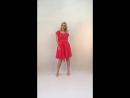 Шифоновое платье цвета манго 42 46 2800р