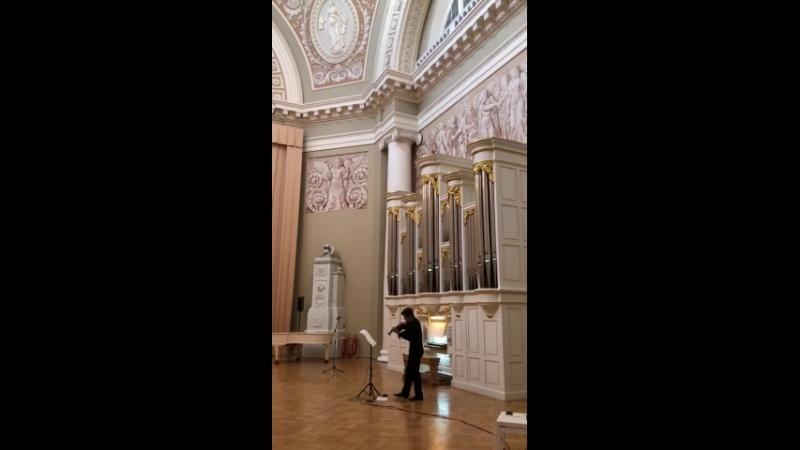 19 июля 2018 года. Таврический дворец. Сергей Полтавский (альт, виола д'амур, электроника).