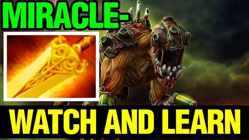 [OnlyBrothers Dota 2] Watch It And Learn How To Be Insane - Miracle- Lifestealer FULL GAME - Dota 2