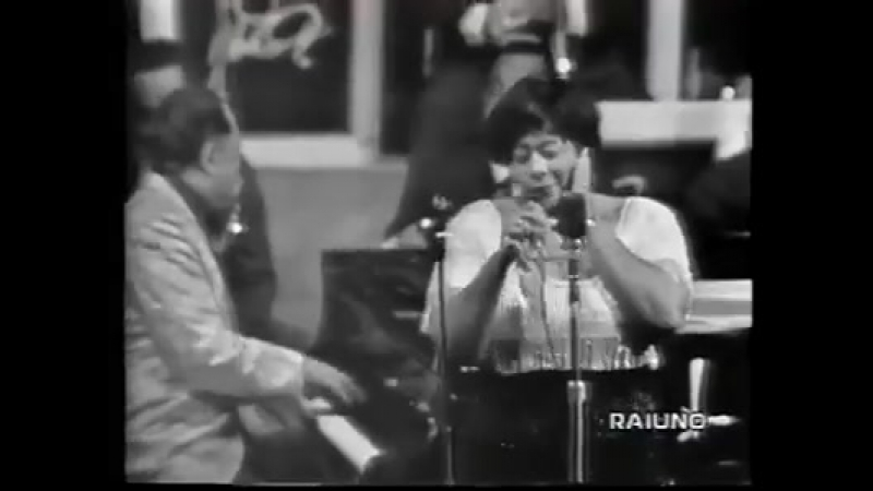 Ella Fitzgerald Paul Gonsalves Duke Ellington his och. - Cottontail 1966