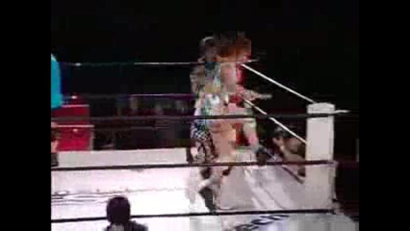 Akino, Nanae Takahashi vs. Ayumi Kurihara, Natsuki Taiyo