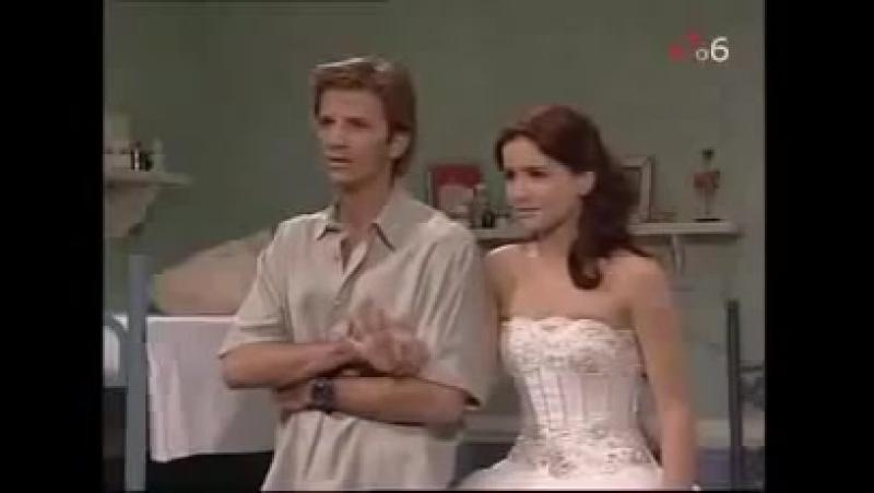 Иво увидел Милли в свадебном платье. (Дикий ангел. 91 серия)