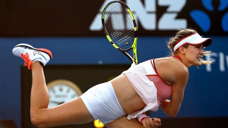 2016-01-20 Australian Open - Agnieszka Radwańska vs. Eugenie Bouchard (RD 2) » Freewka.com - Смотреть онлайн в хорощем качестве