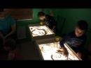 Студия рисования песком sandLand глазами проекта FASHION FAMILY DAY- Челябинск