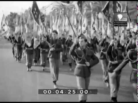 PARADA MOCIDADE PORTUGUESA LEGIÃO PORTUGUESA 28 MAIO 1937