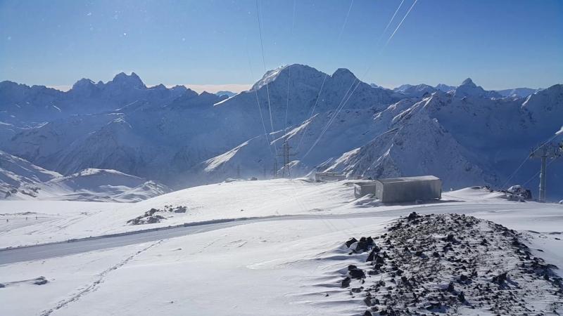 Эльбрус ст Гара-Баши 3847 м 20.01.2018г