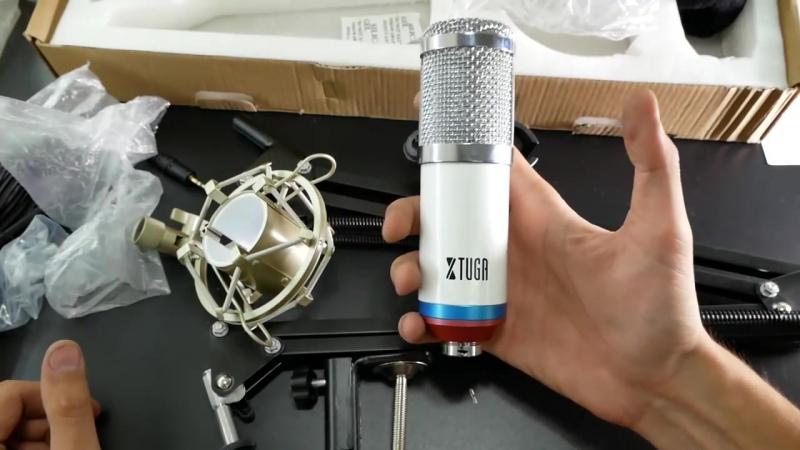 МИКРОФОН XTUGA BM800 - Обзор и распаковка профессионального студийного микрофона