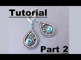 Wire Wrapping Tutorial - Beth's Earrings - Part 2