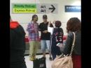 DJ Aligator At Sydney Airport