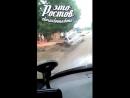 На Международной такси влетело в яму - 21.07.18 - Это Ростов-на-Дону!