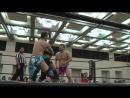 Danshoku Dino, Makoto Oishi, Saki Akai vs. Hiratimo Dragon, Takatimo Dragon, Toru Owashi (DDT - Wrestle Fest in Matsuyama 2018)