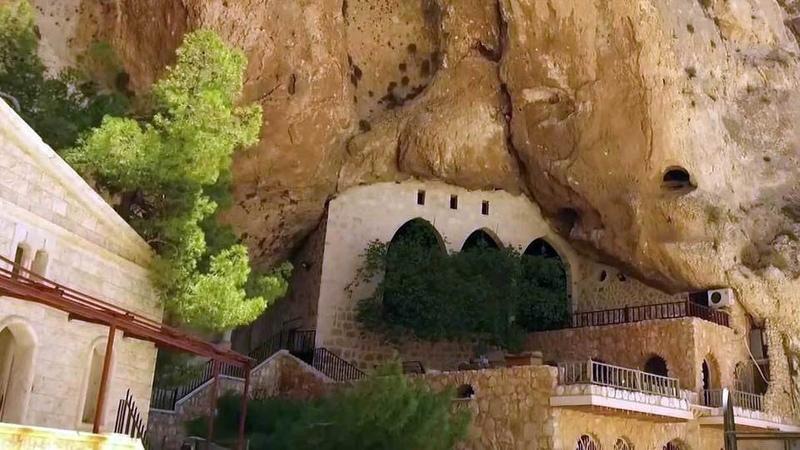 ВСирии возобновил работу древний монастырь святой Феклы вМаалюле. Новости. Первый канал
