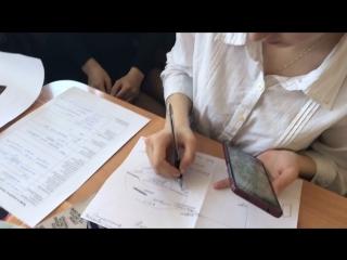 Вела пару - сняла видео с М-15-1 в главной роли