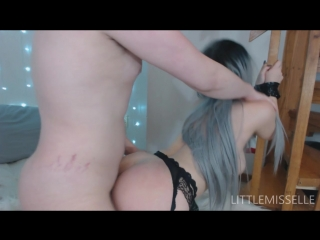 [ManyVids] LittleMissElle - Light Bondage (1080p) [Amateur, Teen, Stockings, Pussy Fuck, Doggy, Cowgirl, Blowjob, Cumshot]_-7087
