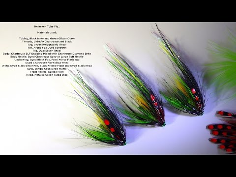 Tying The Heineken Salmon Steelhead Fly by Davie McPhail