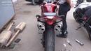 Мастер глушителей: Изготовление прямоточных глушителей на мотоцикл Honda