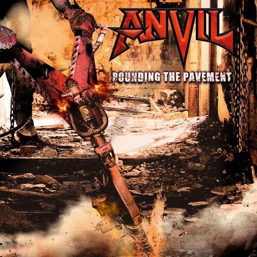 Anvil альбом Pounding The Pavement